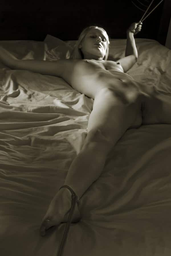Domination Sex girl on bed